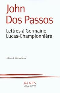 Rhonealpesinfo.fr Lettres à Germaine Lucas-Championnière Image