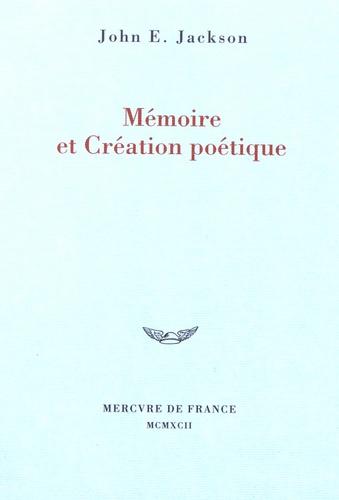Mémoire et création poétique