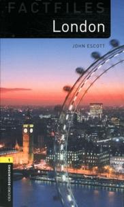 John Escott - London. 1 CD audio