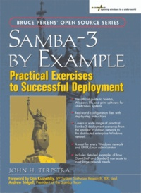 John-H Terpstra - Samba-3 by example : practical exercices to successful deployment.