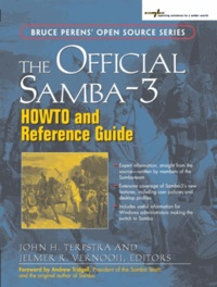 The Official Samba-3- HOWTO and Reference Guide - John-H Terpstra |