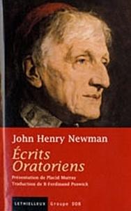 John Henry Newman - Ecrits Oratoriens.