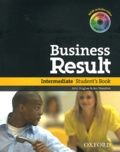 John Hughes et Jon Naunton - Business Result - Intermediate Student's Book. 1 DVD