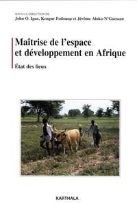 Accentsonline.fr Maîtrise de l'espace et développement en Afrique - Volume 1, Etat des lieux Image