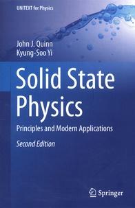 John-J Quinn et Kyung-Soo Yi - Solid State Physics - Principles and Modern Applications.