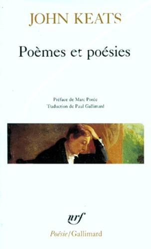 John Keats - Poèmes et poésies.