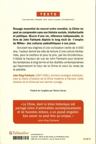 Histoire de la Chine. Des origines à nos jours