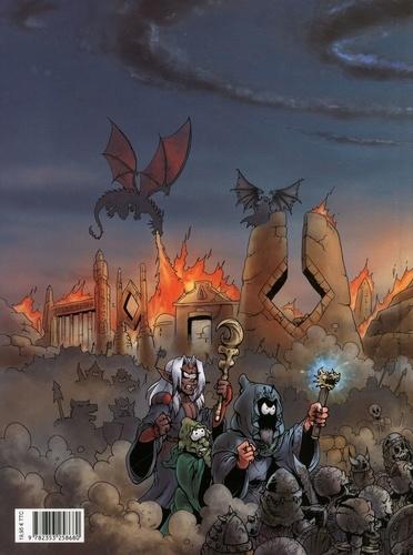 Le Donjon de Naheulbeuk Tome 25 Sixième Saison. Partie 6. Couverture panoramique, plan de Rancurac, Diplômes d'Aventuriers -  -  Edition limitée