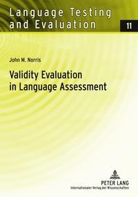 John m. Norris - Validity Evaluation in Language Assessment.