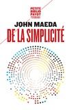 John Maeda - De la simplicité.