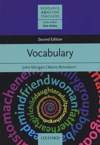 John Morgan et Mario Rinvolucri - Vocabulary.