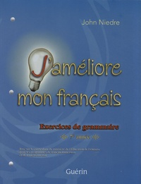 Histoiresdenlire.be J'améliore mon français - Exercices de grammaire 7e année Image
