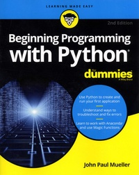 Ucareoutplacement.be Beginning Programming with Python For Dummies Image