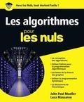 John-Paul Mueller - Les algorithmes pour les nuls.