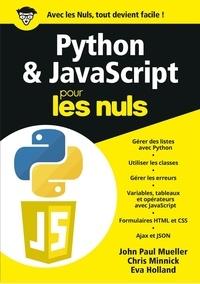 John-Paul Mueller - Python & JavaScript Mégapoche Pour les Nuls.