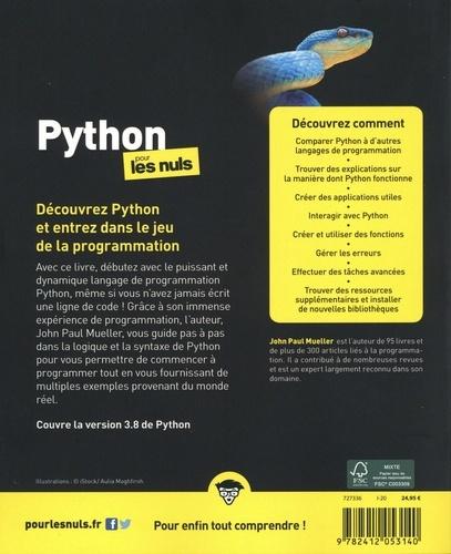 Python pour les nuls 3e édition