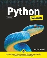 John-Paul Mueller - Python pour les nuls.