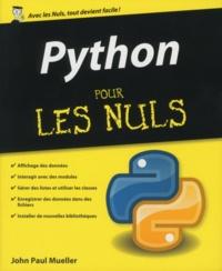 Python pour les nuls - John-Paul Mueller - Format ePub - 9782754085939 - 15,99 €