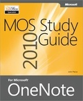John Pierce - MOS 2010 Study Guide for Microsoft® OneNote.