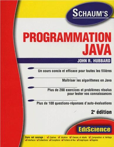 John-R Hubbard - Programmation Java.