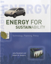 John Randolph - Energy for Sustainability - Technology, Planning, Policy.