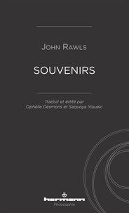 John Rawls - Souvenirs.