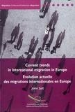 John Salt - Evolution actuelle des migrations internationales en Europe.