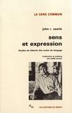 John Searle - Sens et expression - Etudes de théorie des actes de langage.
