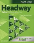 John Soars et Liz Soars - New Headway Beginner - Workbook without key. 1 Cédérom