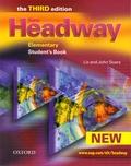 John Soars et Liz Soars - New Headway Elementary student's book.