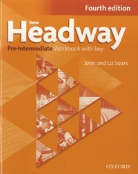 Ebooks à téléchargement gratuit pour kindle New Headway Pre-Intermediate  - Workbook with Key 9780194769594 in French PDB CHM ePub
