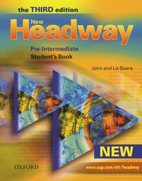 John Soars et Liz Soars - New Headway - Pre-Intermediate - Student's book.