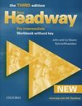 John Soars et Liz Soars - New Headway - Pre-Intermediate 2007 - Workbook without key.
