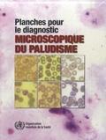 John Storey - Planches pour le diagnostic microscopique du paludisme.