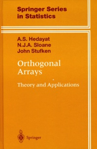 ORTHOGONAL ARRAYS. - Theory and Applications.pdf
