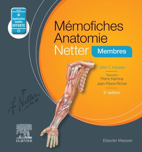 Mémofiches Anatomie Netter. Membres 5e édition