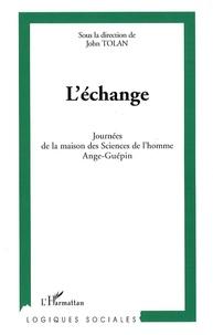 John Tolan - L'échange - Journées de la maison des Sciences de l'homme Ange-Guépin.