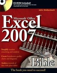 John Walkenbach - Excel 2007 - Bible. 1 Cédérom