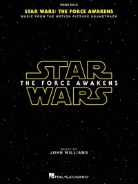 John Williams - Star wars: episode VII-the force awakens - Piano solo.