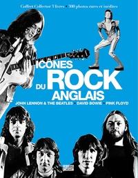 Johnny Black et Bryan Boyd - Coffret Icônes du rock anglais en 3 volumes - John Lennon & the Beatles ; David Bowie l'étoile pop ; Pink Floyd la renaissance.