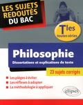 Johnny Brousmiche - Philosophie Tle toutes séries - Dissertations et explications de textes.