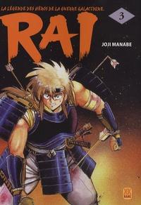 Joji Manabe - Rai Tome 3 : .