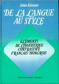 De la langue au style - Eléments de linguistique contrastive français-hongrois.pdf
