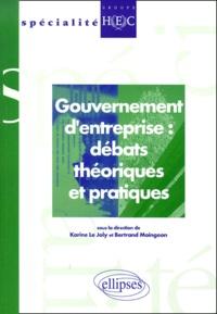 Joly Le et Bertrand Moingeon - .