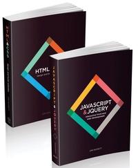 Jon Duckett - HTML & CSS, design and build websites ; JavaScript and jQuery, interactive front-end web development - Pack en 2 volumes.