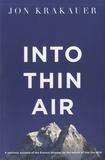 Jon Krakauer - Into Thin Air.