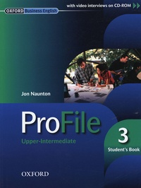 Era-circus.be ProFile Upper-Intermediate - Student's Book 3 Image