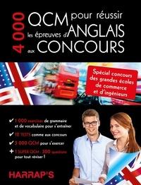 Jonah Wilson et Frances Illingworth - 4000 QCM pour réussir les épreuves d'Anglais aux concours.