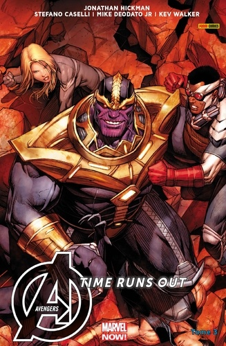 Avengers Time Runs Out (2013) T03 - 9782809464580 - 9,99 €