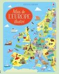Jonathan Melmoth et Brian Fitzgerald - Atlas de l'Europe illustré.